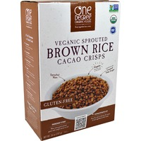 One Degree Organics Vegan Sprouted Brown Rice Cacao Crisps