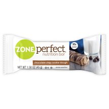 ZonePerfect Nutrition Bar, 10 Grams of Protein, Chocolate Chip Cookie Dough, 1.76 Oz, 5 Ct