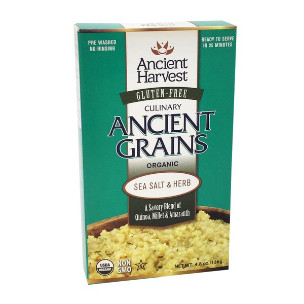 Ancient Harvest Ancient Grains, Culinary, Organic, Sea Salt & Herb