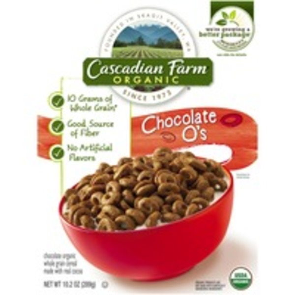 Cascadian Farm Organic Chocolate O's Cereal