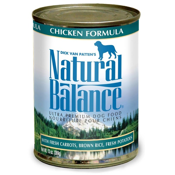 Natural Balance Ultra Premium Chicken Formula with Fresh Carrots Brown Rice Fresh Potatoes Dog Food