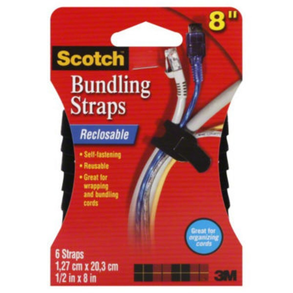 Scotch Bundling Straps Black