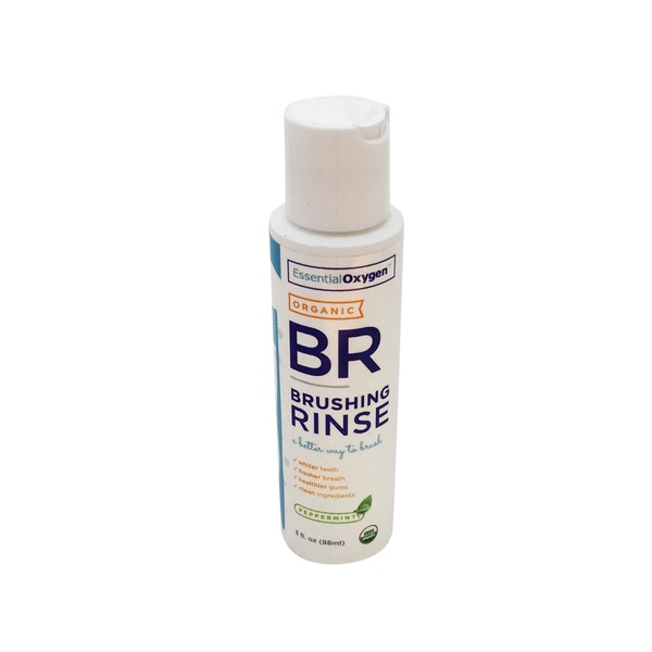 Es Sential Oxygen+ Organic Pepperming Brushing Rinse