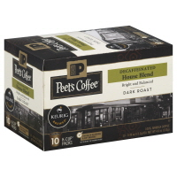 Peets Coffee Coffee K-Cup Packs House Blend Decaffeinated