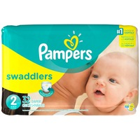 Pampers Swadlers Pampers DP PAMP SW S2 JP 32.0 CT Diapers