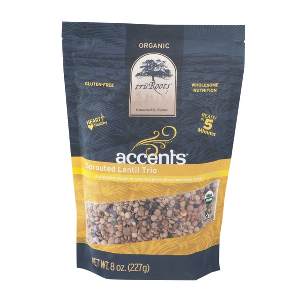 truRoots Tru Roots Accents Sprouted Lentil Trio