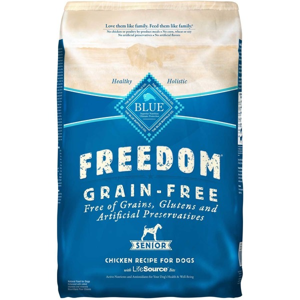 Blue Buffalo Freedom Grain Free Dry Chicken Food For Dogs