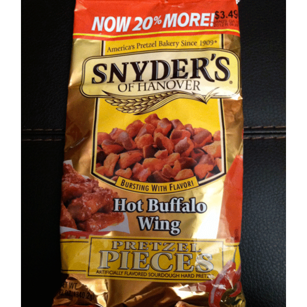 Kroger Hot Buffalo Pretzel Pieces
