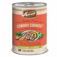 Merrick Classic Grain Free Cowboy Cookout Canned Dog Food