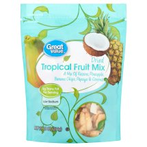 Great Value Dried Tropical Fruit Mix, 10 oz