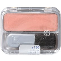 COVERGIRL Cheekers Blendable Powder Blush, Brick Rose 180, .12 oz