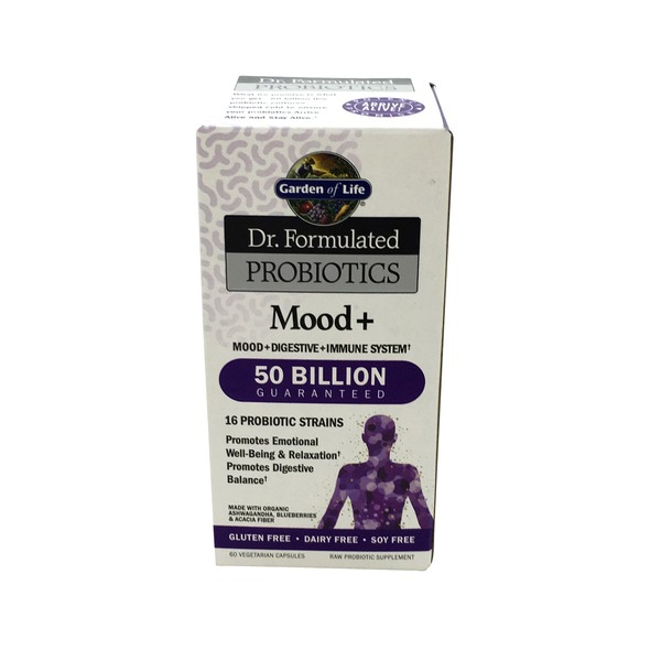 Garden of Life Doctor Formulated Probiotic Mood 50 Billion