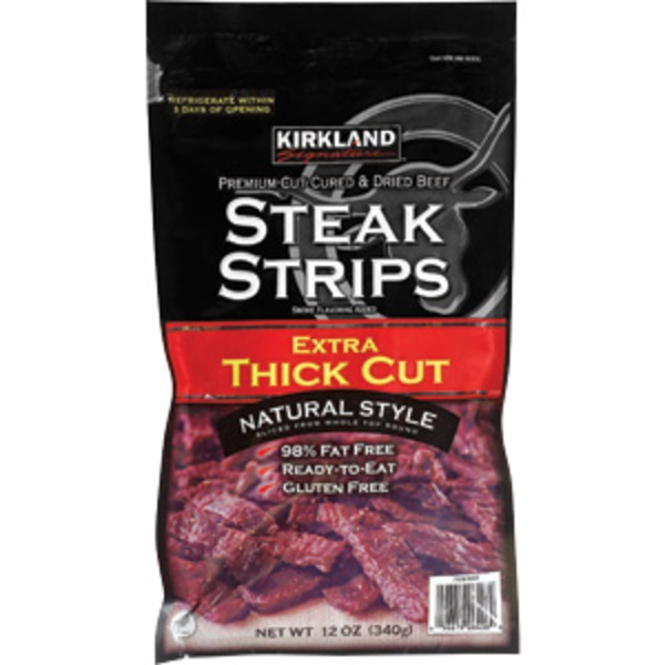 Kirkland Signature Steak Strips