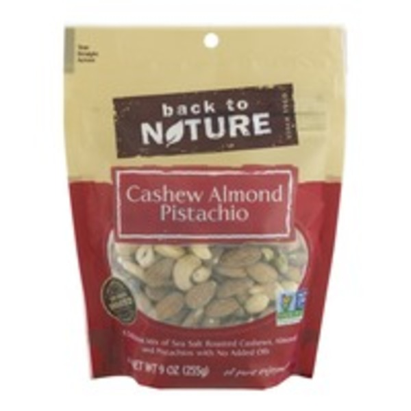 Back to Nature Cashew Almond Pistachio