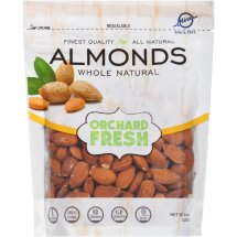 Hines Orchard Fresh Whole Natural Almonds, 8 oz