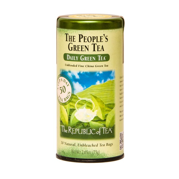 The Republic of Tea The People's Daily Green Tea Bags
