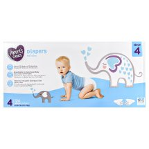 Parent's Choice Diapers, Size 4, 124 Diapers
