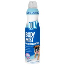 OUT! Body Mist Spray, Clean Cotton, 6.3 oz