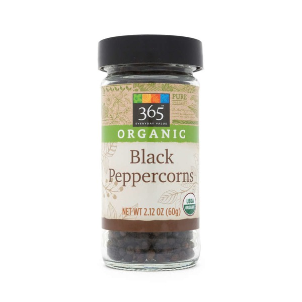 365 Organic Black Peppercorns