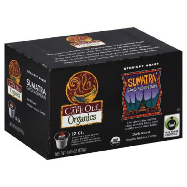 Cafe Olé Organics Sumatra Coffee