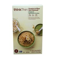 ThinkThin Original Sprouted Grains Protein & Fiber Hot Oatmeal