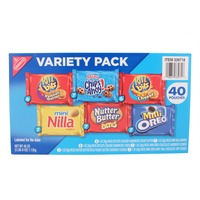 Nabisco Box of Variety Cookie Packages