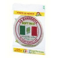 La Banderita Soft Taco Large Flour Tortillas - 10 CT