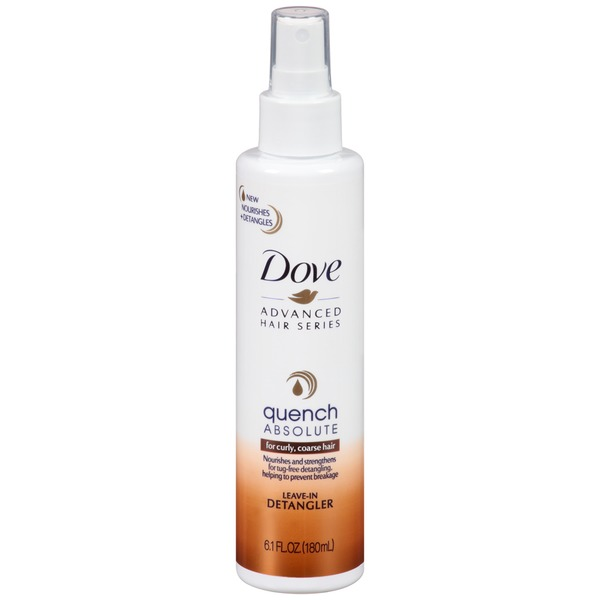Dove Advanced Hair Series Quench Absolute Leave-In Detangler
