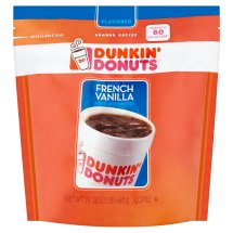 Dunkin' Donuts French Vanilla Ground Coffee, 24 oz