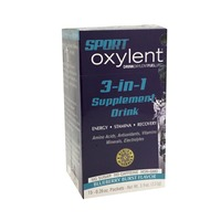 Albion Minerals Sport Oxylent 3-in-1 Supplement, Blueberry