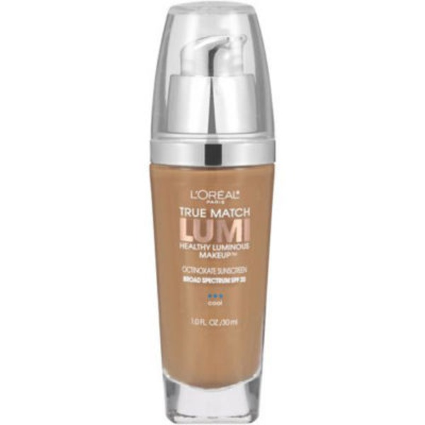 True Match Lumi C6 Cool Soft Sable Healthy Luminous Makeup