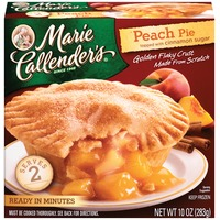 Marie Callender's Peach Topped with Cinnamon Sugar Fruit Pie