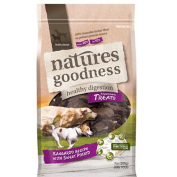 Natures Goodness Kangaroo And Sweet Potato Dog Treats