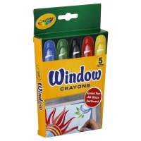 Crayola Crayons Window