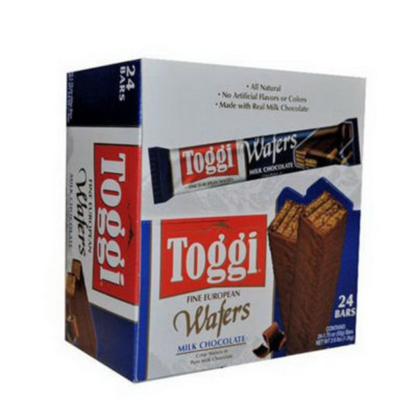 Toggi Milk Chocolate Wafers