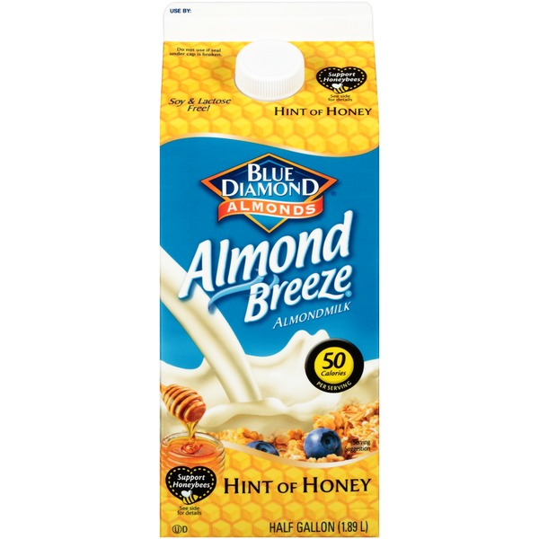 Almond Breeze Hint of Honey Almondmilk