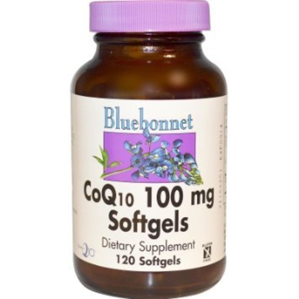 Bluebonnet CoQ-10 100 Mg
