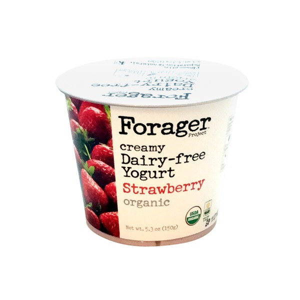Forager Project Strawberry Dairy-Free Cashewgurt