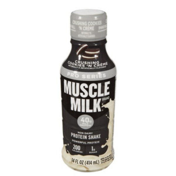 Muscle Milk Pro Series Crushing Cookies 'N Crème Non Dairy Protein Shake
