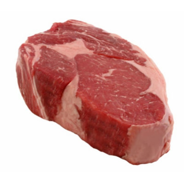 Central Market Beef Ribeye Grass Fed Boneless Steak