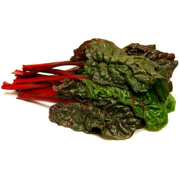 Organic Red Chard Greens, Bunch