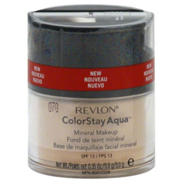 Revlon ColorStay Aqua Medium Deep Mineral Powder Makeup