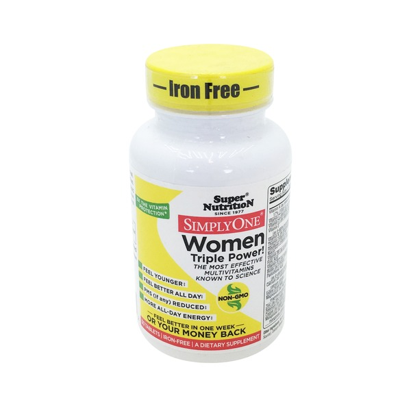 Super Nutrition Simply One Women Iron Free Tablets