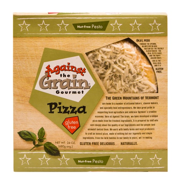 Against The Grain Gourmet Gourmet Pizza Nut-Free Pesto