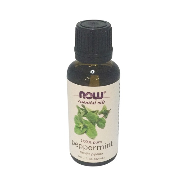Now Essential Oils, 100% Pure, Peppermint, Bottle