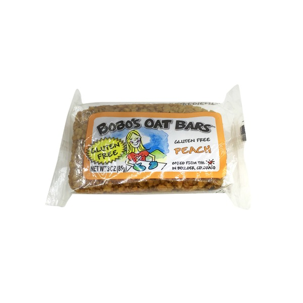 Bobo's Oat Bars All Natural Bar Peach