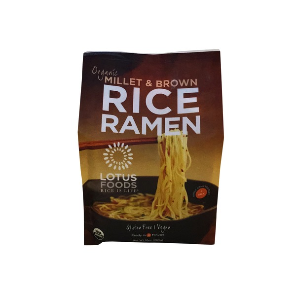 Lotus Foods Organic Rice Ramen Millet & Brown