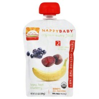 Happy Baby/Family Simple Combos Bananas, Beet & Blueberries Organic Baby Food