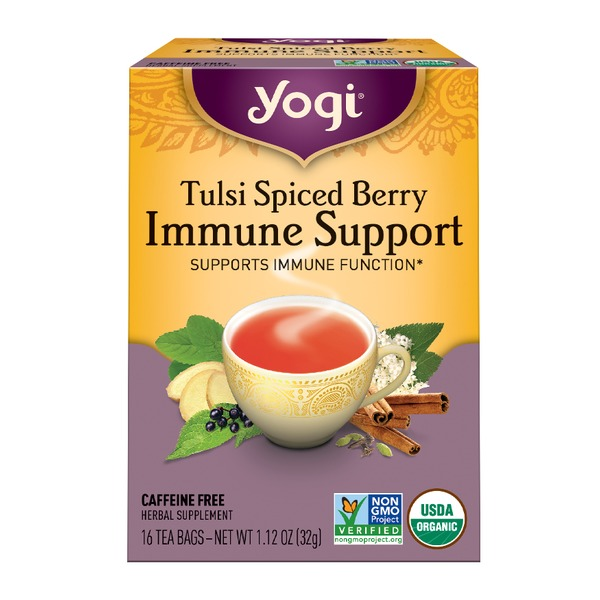 Yogi Tulsi Spiced Berry Immune Support