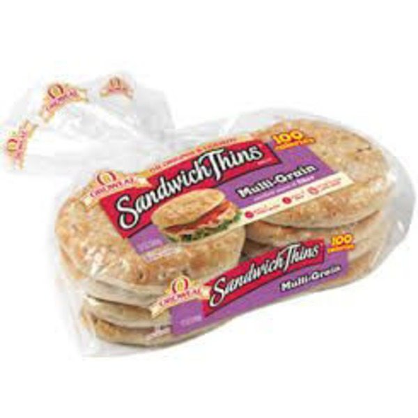 Oroweat Sandwich Thins Pre-Sliced Multi-Grain Rolls